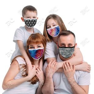 Reusable Sublimation Cooling Face Mask